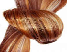 Keratin is the protein found in hair cells.