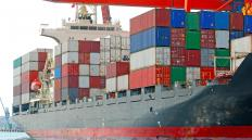 A freight broker will assist in shipping goods internationally.