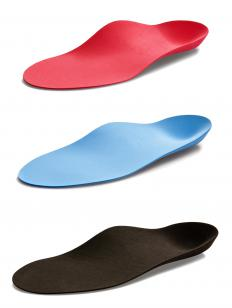 Supportive insoles are critical in running shoes.