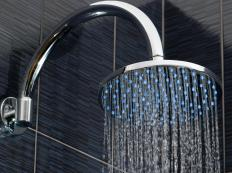 Breathing in the steam from a hot shower will open up airways.