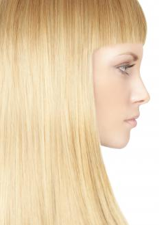 Shine serum may help smoothe hair that is prone to frizziness.