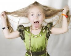 Some children respond well to humor and may stop whining in exchange for silliness.