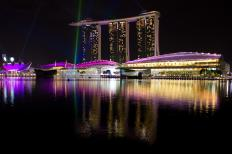 Singapore is a popular tourist destination.
