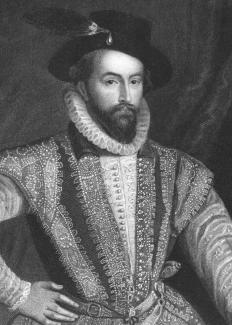 In the 16th century, Sir Walter Raleigh sent reports about his discoveries of scuppernong grapes in the Outer Banks.