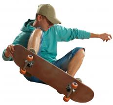 Skateboarding kits can be purchased.