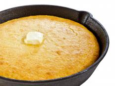 Cornmeal is an ingredient used to make cornbread.
