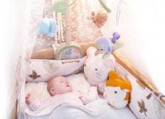 The most important part of a baby comforter is making sure you have a warm and inviting place for the baby to sleep.