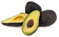 Avocados are a healthy fruit.