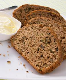 Zucchini bread is great for beginner cooks to make.