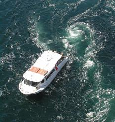 Ferries are often jet boats.