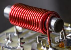 The core of an electromagnetic relay consists of an electromagnet.