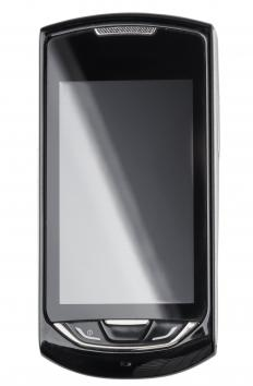 A WindowsTM smartpone operates with a WindowsTM mobile operating system.