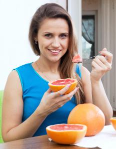 Frequent grapefruit eaters may own a spoon that's specially designed for grapefruits.