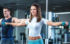 Lateral raises help tone, sculpt and strengthen the shoulders.