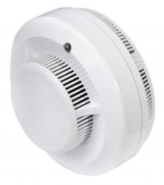 ZigBee can connect household devices, such as smoke alarms, to a central control unit.
