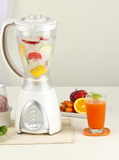 Professional blenders may have certain specialities.