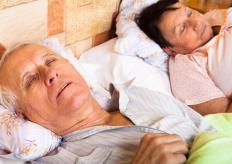 Snoring may occur as a result of enlarged adenoids.