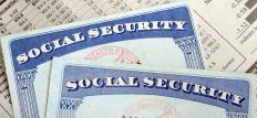 People may visit a Social Security office to apply for a Social Security card.