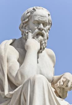 Socrates leads the discussions in most of the dialogues of Plato.