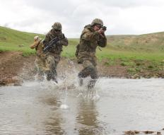Soldiers on active duty typically experience high levels of stress.