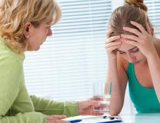 A therapist often can help determine the source of moderate depression.