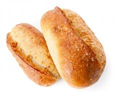 Sourdough starters contain microorganisms that produce the bread's characteristic taste.