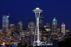 Though built for the 1962 World's Fair, the Space Needle remains a major attraction in Seattle.