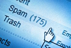 A spam filter is designed to clean junk mail from a computer.