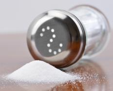 Salt is often an important consideration in food composition for those watching their sodium intake.