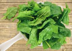 Spinach and other green leafy vegetables have high levels of magnesium, a mineral that helps regulate countless metabolic processes.