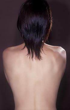 Thoracolumbar scoliosis occurs more often in females than in males.