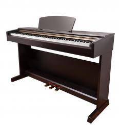 Small spinet pianos can often be purchased secondhand or found at churches, schools, and in other social venues.