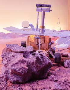 NASA has used robots and landers to explore the surface of Mars.