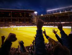 Many stadiums, especially those in Europe, are designed specifically for soccer.