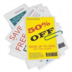 Coupons are a common use of gimmicks.