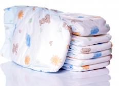 Some diaper pails compress disposable diapers.