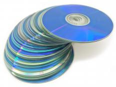 CDs and DVDs can be used to load data onto a disk.