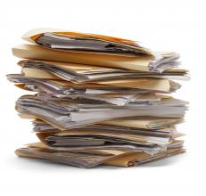 A lean government tries to handle things right away, instead of allowing paperwork to pile up.
