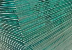 Toughened glass.