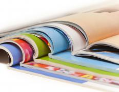 In perfect binding, adhesive is used to attach pages to the cover of a document, which gives the finished document a clean look with a flat spine.
