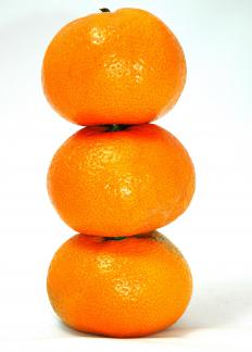 The satsuma is a type of mandarin orange.