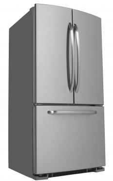 The main advantage of a French door refrigerator is that only one side of the fridge needs to be opened at one time.