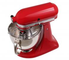 Stand mixers come with several different blades.