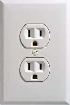 Some cameras can be hidden in a power outlet.