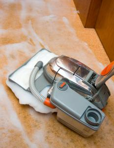 Steam cleaners may be effective in removing soot from carpet.