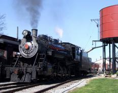 A feedwater heater is a component of steam locomotives used to improve thermal efficiency of boiler systems.