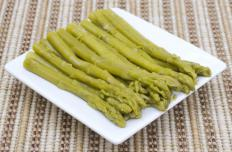 Alkaline soil is good for asparagus.