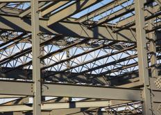 A slight amount of manganese can strengthen steel for use in construction.