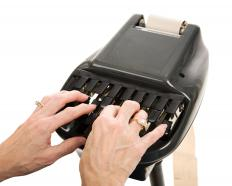 News broadcasts are often transcribed by stenographers.