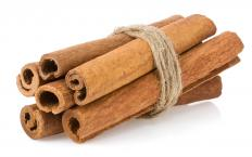 Cinnamon is used to add flavor to hojuelas.